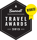 Sunset Travel Awards Winner 2015