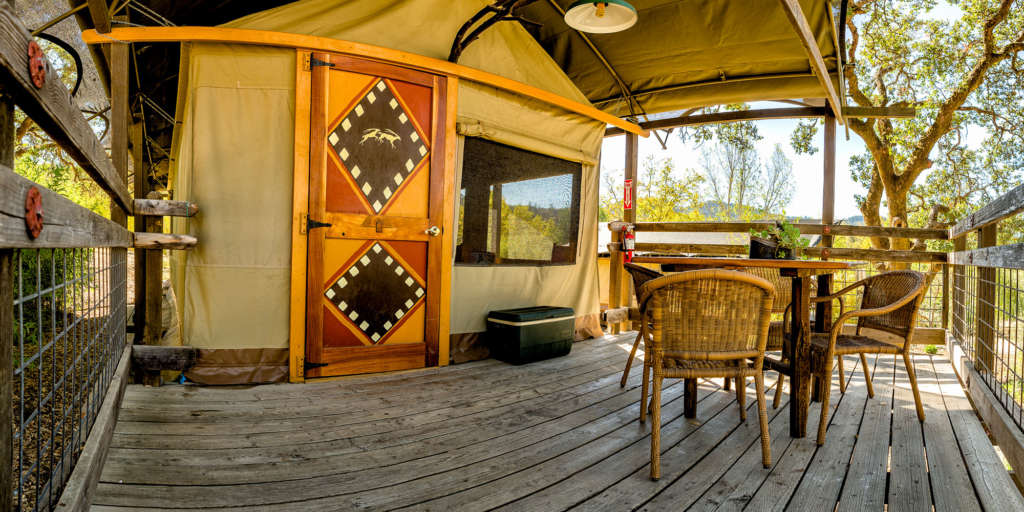 Tent Deck