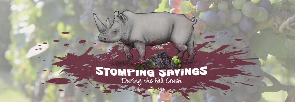 Stomping Savings During the Fall Crush