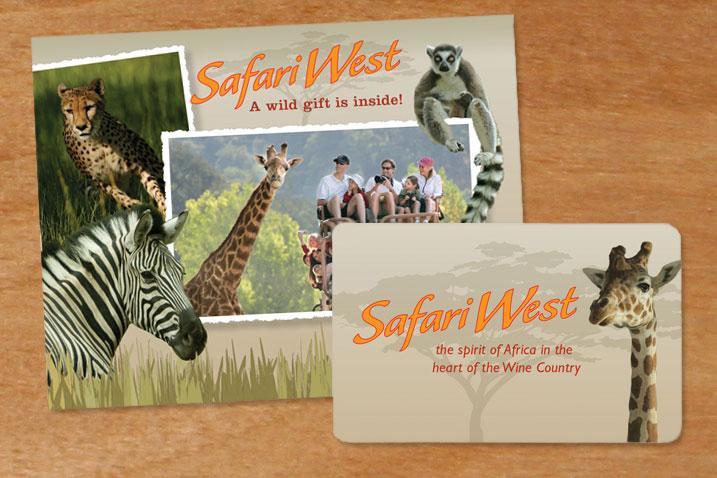 Safari West Gift Card