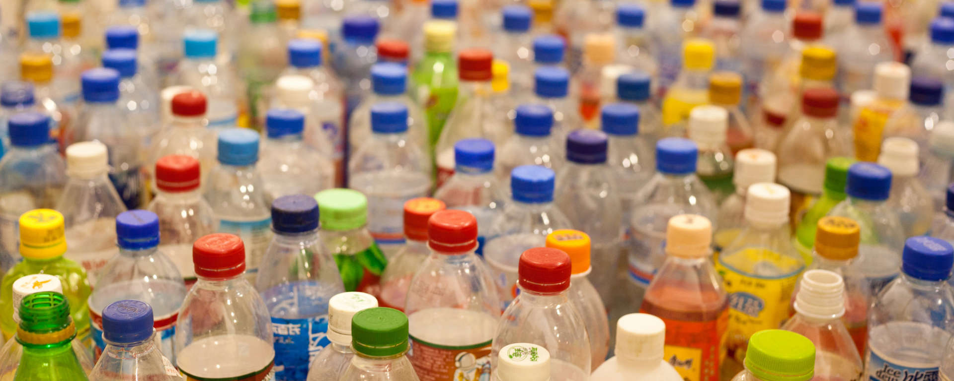 Plastic Bottles by Tom Page